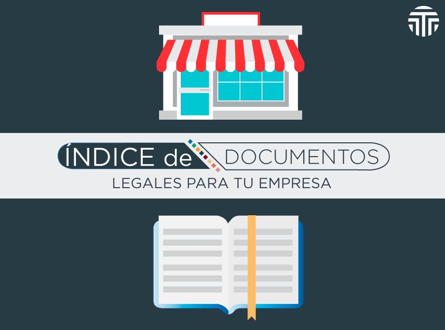 Índice de documentos legales