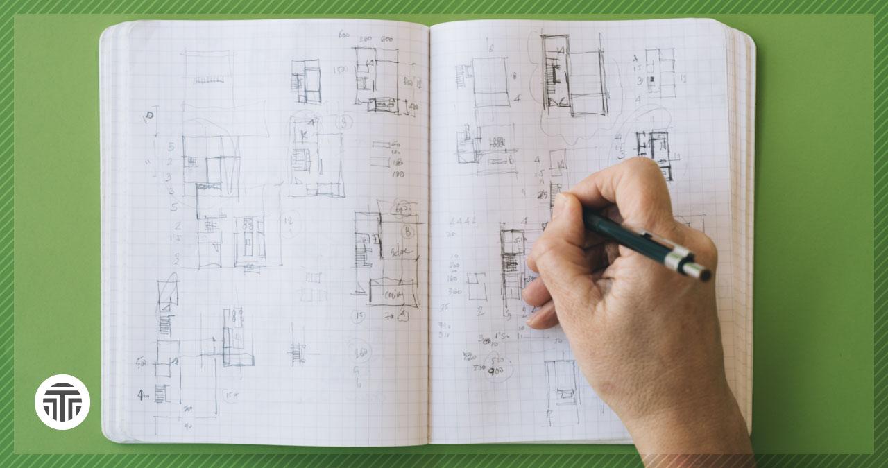 Dibujo de arquitecto